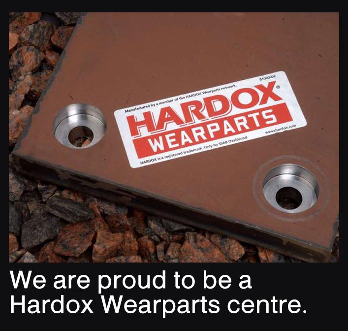 Hardox wear parts centre