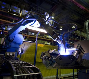 Robotic welding at MTL